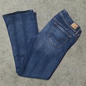 American Eagle Kick Boot Jeans 12 SHORT